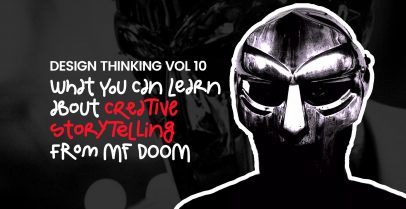 What can you learn about creative storytelling from MF Doom