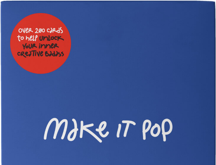 make it pop - over 20 cards. The ultimate design thinking card game