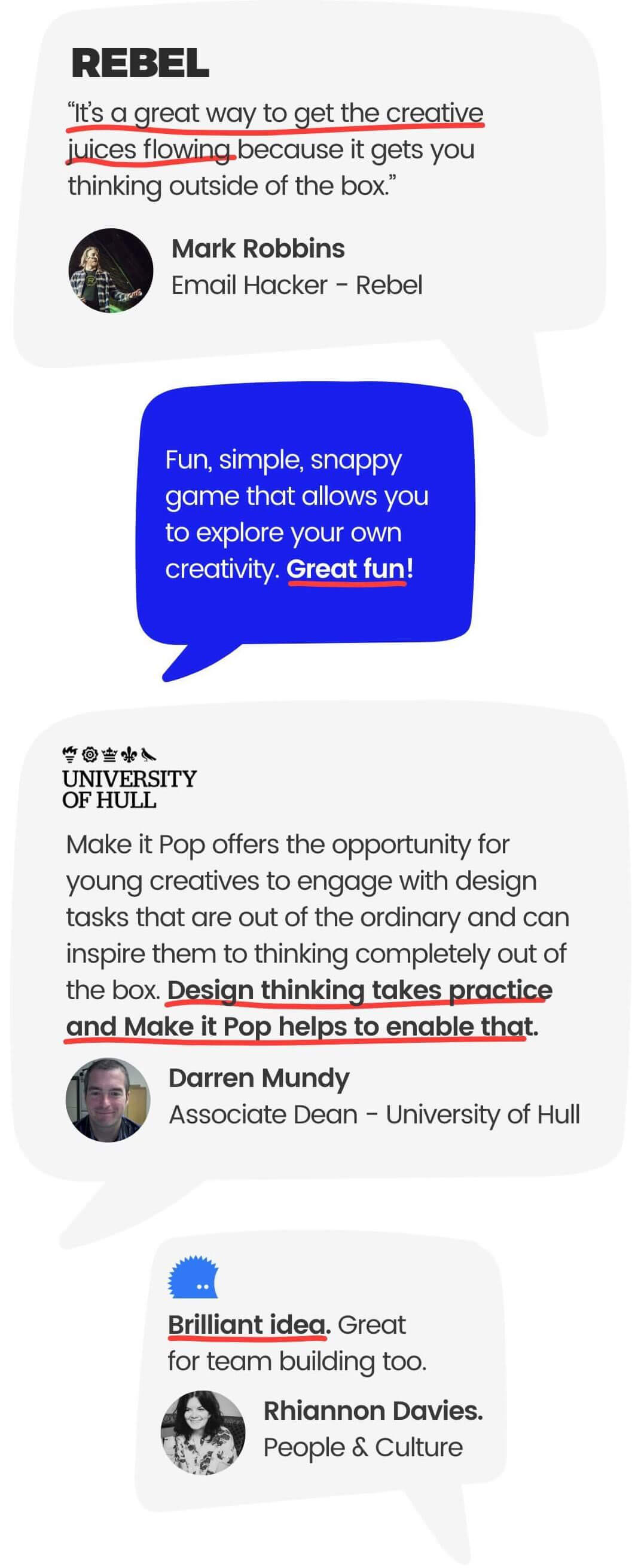 make it pop: The #1 Most Badass Design Thinking Card Game for Icebreakers 3