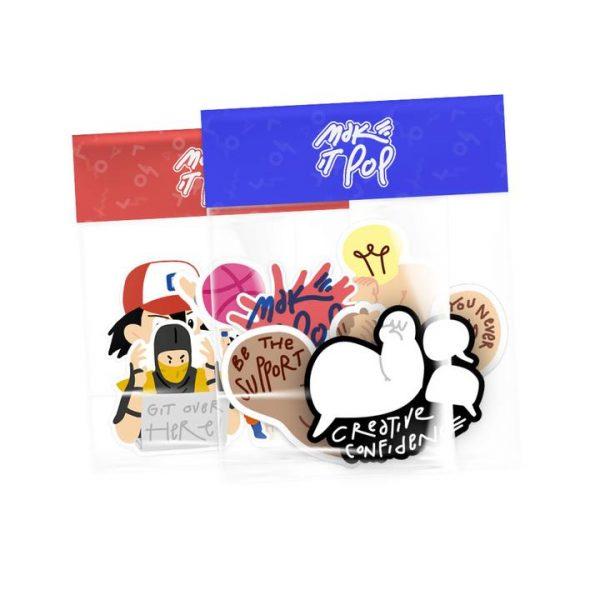 make it pop Sticker Pack 1