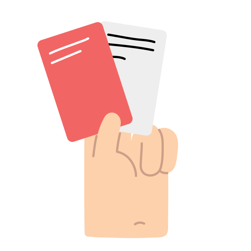 2. Choose a White Client Card or a Red Client Card. Red Client Cards are unconventional clients and boost Design Thinking much faster